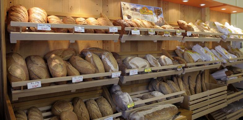 Boulangerie, vienoiserie, pains spéciaux